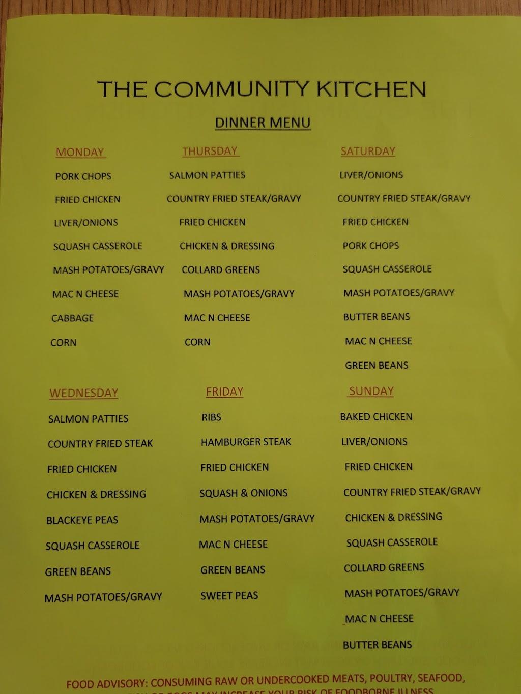 The Community Kitchen   restaurant   9130 GA-85, Waverly Hall, GA 31831, USA   7065822211 OR +1 706-582-2211