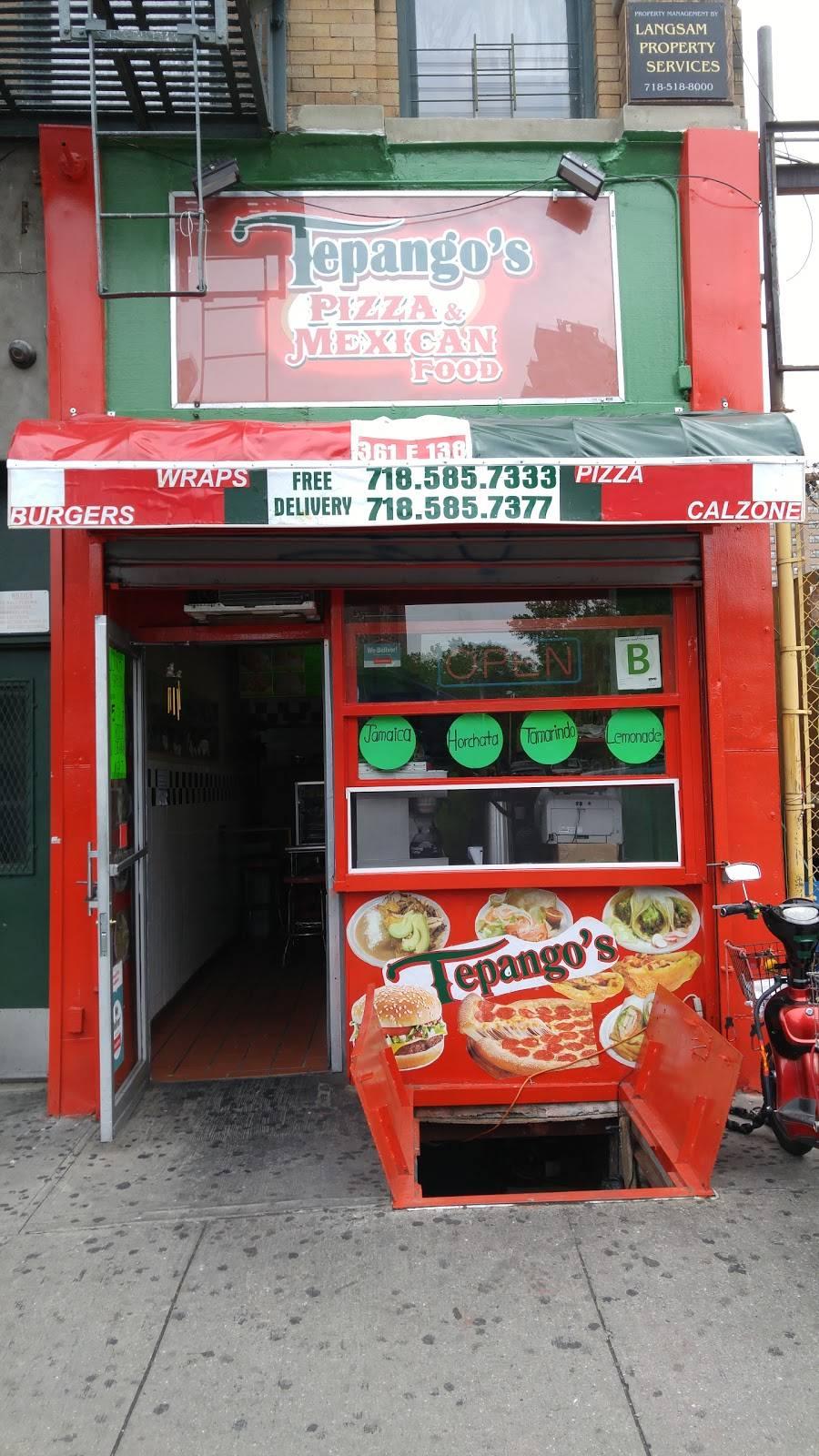 Tepangos | restaurant | 361 E 138th St, Bronx, NY 10454, USA | 7185857333 OR +1 718-585-7333