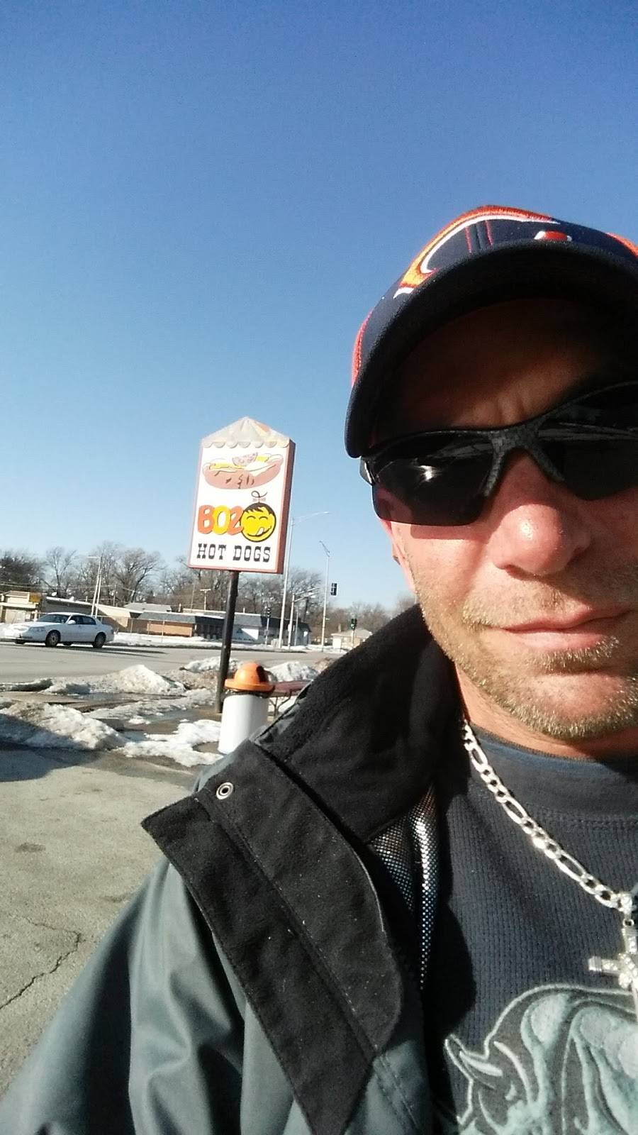 Boz Hot Dogs   meal takeaway   17031 Dixie Hwy, Hazel Crest, IL 60429, USA   7083359815 OR +1 708-335-9815