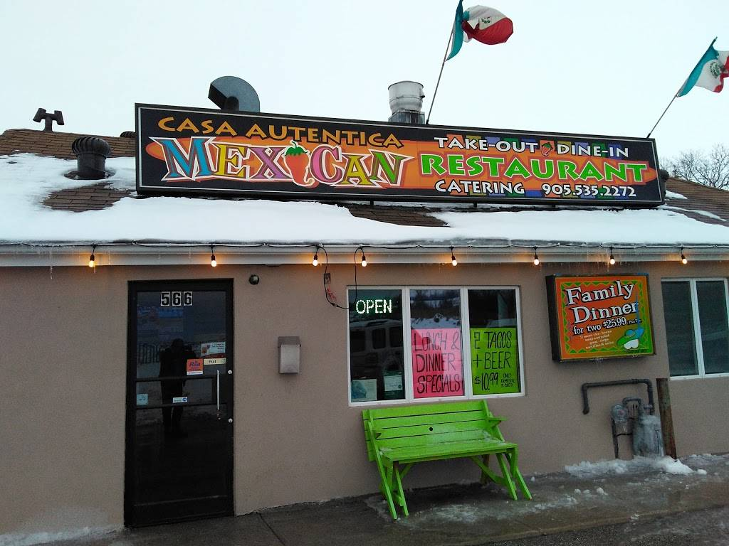 Casa Autentica Mexican Restaurant & Bar | restaurant | 566 The Queensway S, Keswick, ON L4P 3W4, Canada | 9055352272 OR +1 905-535-2272