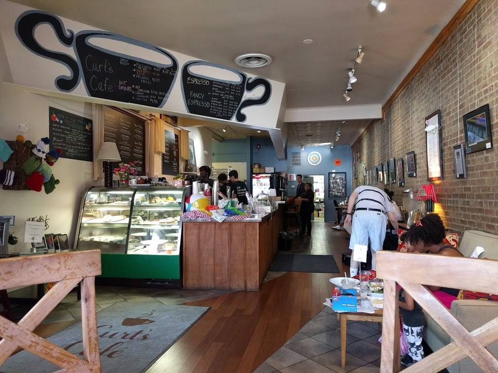 Curt's Café   cafe   2922 Central St, Evanston, IL 60201, USA   8478688385 OR +1 847-868-8385