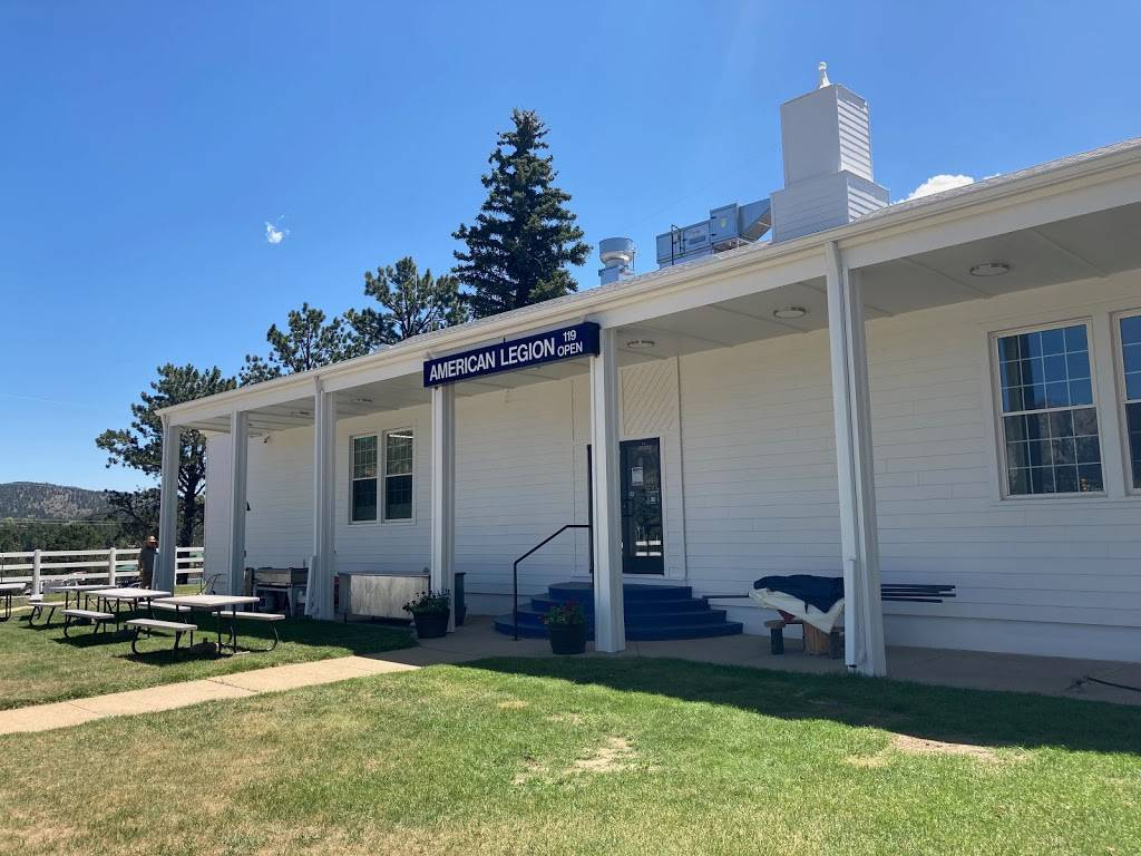 Circle 119: home of American Legion Post 119 | restaurant | 850 N St Vrain Ave, Estes Park, CO 80517, USA | 9705866118 OR +1 970-586-6118