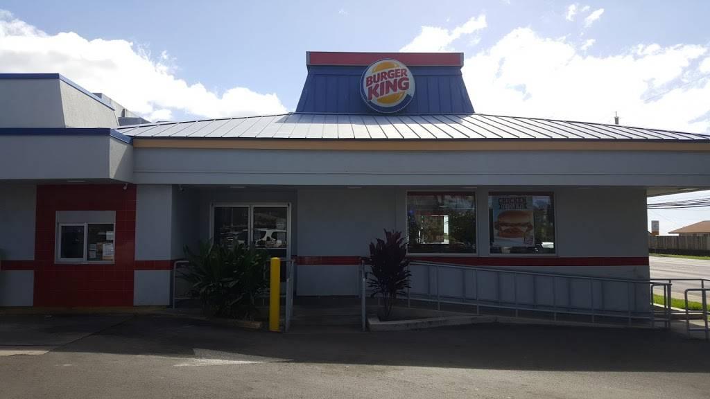Burger King   restaurant   86-120 Farrington Hwy, Waianae, HI 96792, USA   8086968000 OR +1 808-696-8000