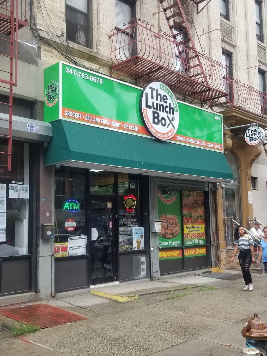 The Lunch Box (Deli And Grill) | restaurant | 204 Bushwick Ave, Brooklyn, NY 11206, USA | 3477630676 OR +1 347-763-0676