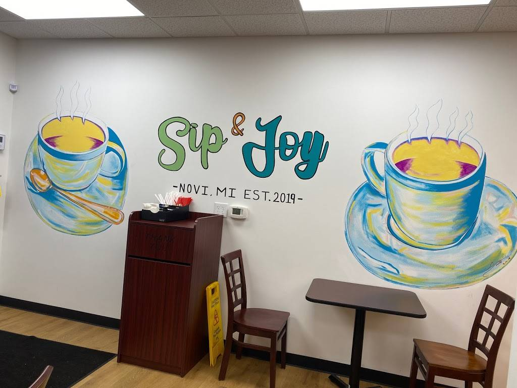 SIP & JOY Coffee-Donuts | bakery | 41467 W 10 Mile Rd, Novi, MI 48375, USA | 2487197178 OR +1 248-719-7178