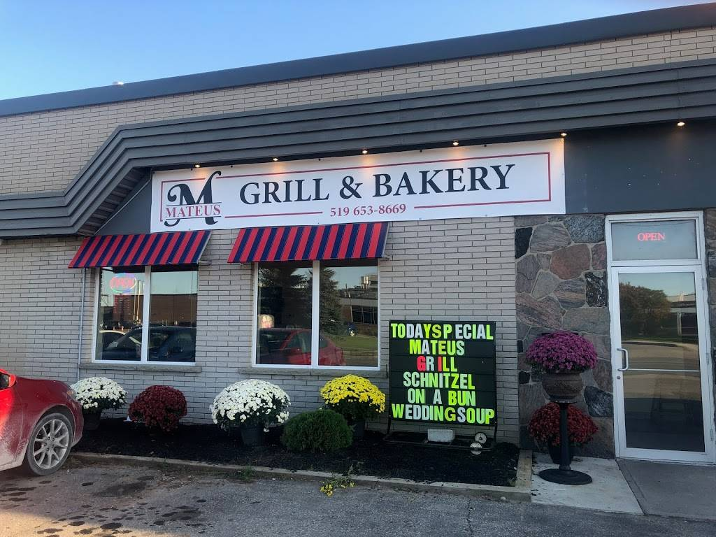 Mateus Grill and Bakery | restaurant | 990 Bishop St N Unit 6, Cambridge, ON N3H 4V7, Canada | 5196538669 OR +1 519-653-8669