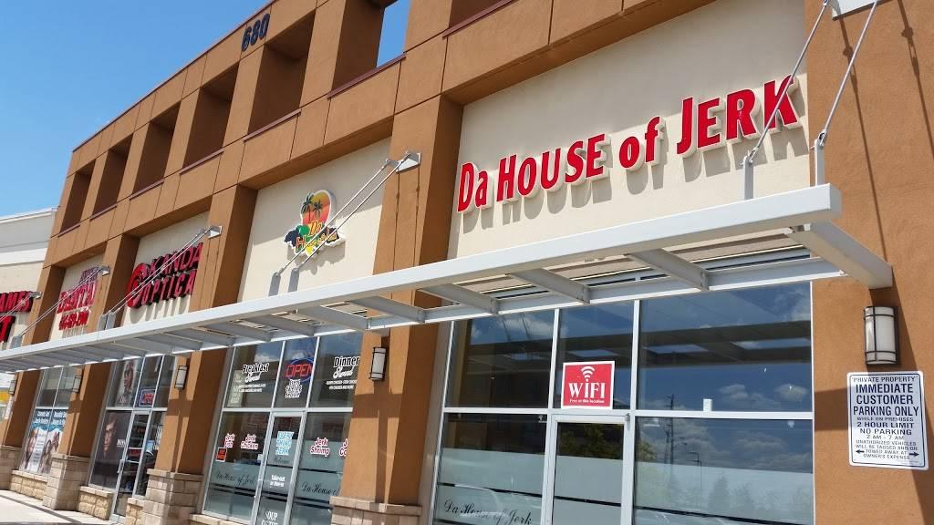 Da House Of Jerk | restaurant | 680 Rexdale Blvd, Etobicoke, ON M9W 0B5, Canada | 4166790755 OR +1 416-679-0755