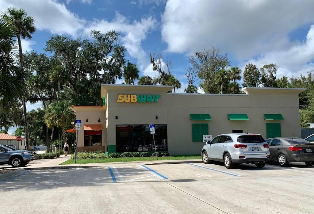 SUBWAY   restaurant   FL-44, New Smyrna Beach, FL 32168, USA