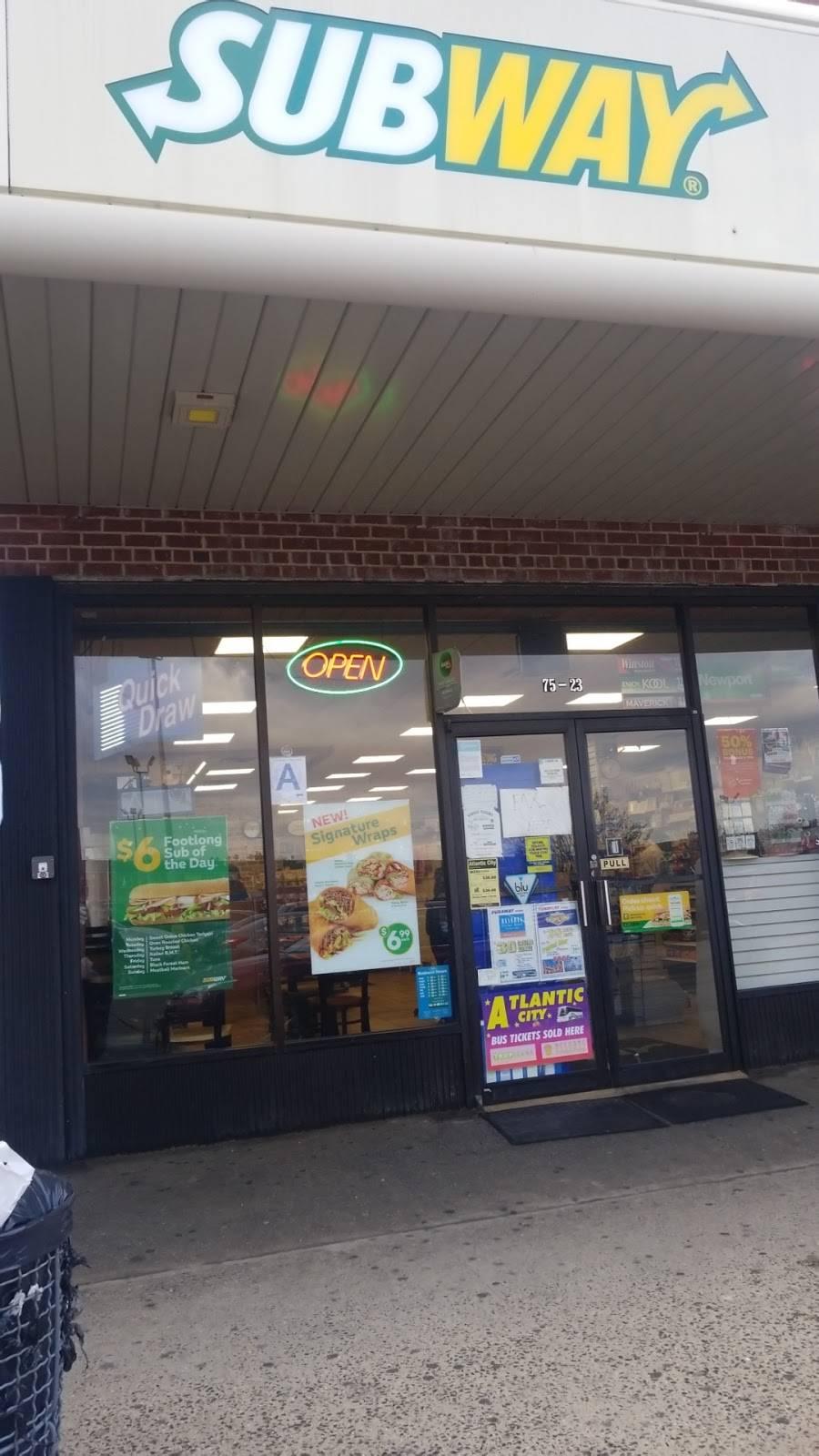 Subway Restaurants | restaurant | 75-23 31st Ave, East Elmhurst, NY 11370, USA | 7184589778 OR +1 718-458-9778