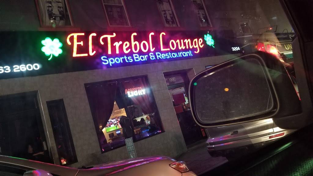 El Trebol Lounge | restaurant | 32 Bergenline Ave, Union City, NJ 07087, USA | 2018632600 OR +1 201-863-2600