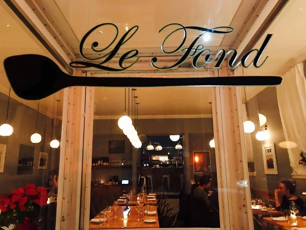 Le Fond | restaurant | 105 Norman Ave, Brooklyn, NY 11222, USA | 7183896859 OR +1 718-389-6859