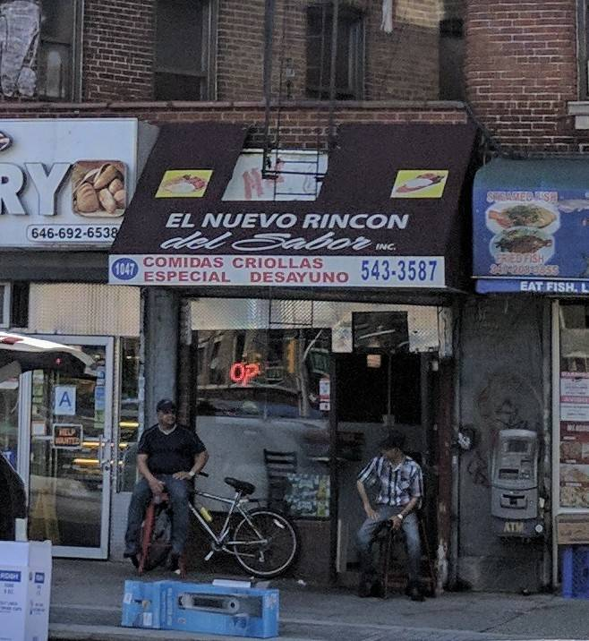 El Nuevo Rincon   restaurant   1047 St Nicholas Ave, New York, NY 10032, USA   6465433587 OR +1 646-543-3587