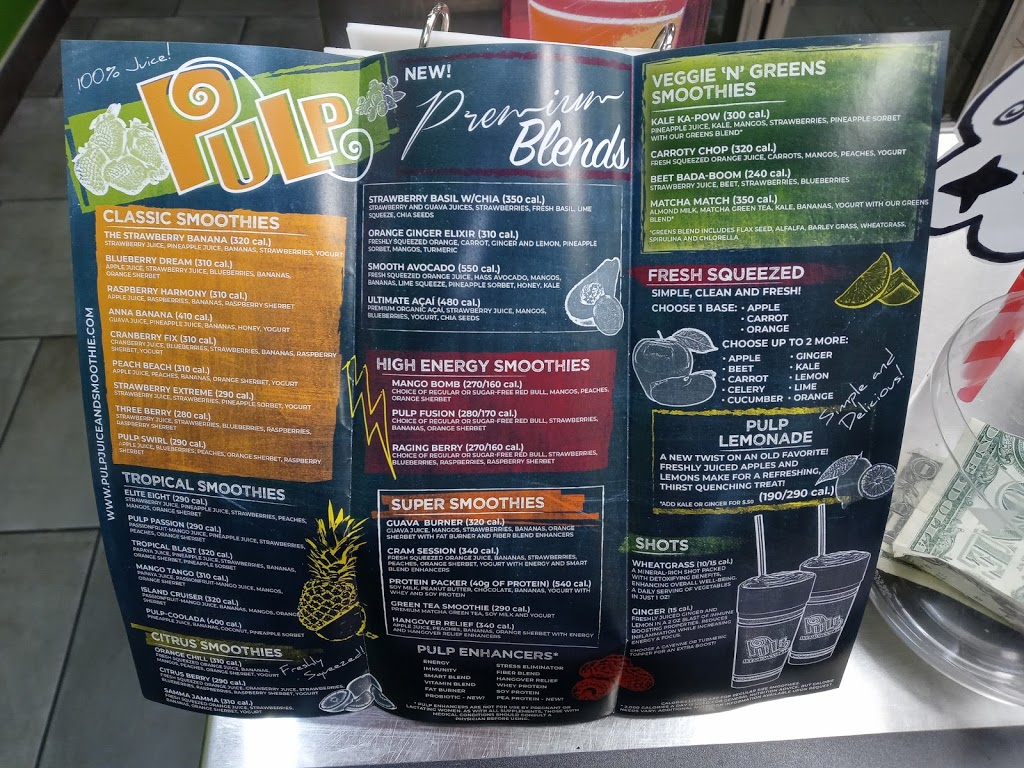 Pulp Juice and Smoothie Bar | restaurant | 4746 Ridge Rd, Brooklyn, OH 44144, USA | 2164178115 OR +1 216-417-8115