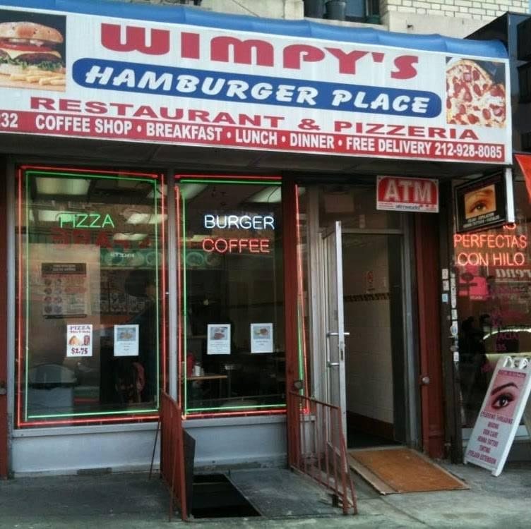 Wimpys   restaurant   1232 St Nicholas Ave, New York, NY 10032, USA   2129288085 OR +1 212-928-8085