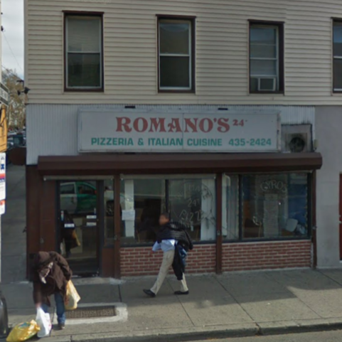 Romanos Pizza   meal delivery   508 West Side Ave, Jersey City, NJ 07304, USA   2014352424 OR +1 201-435-2424