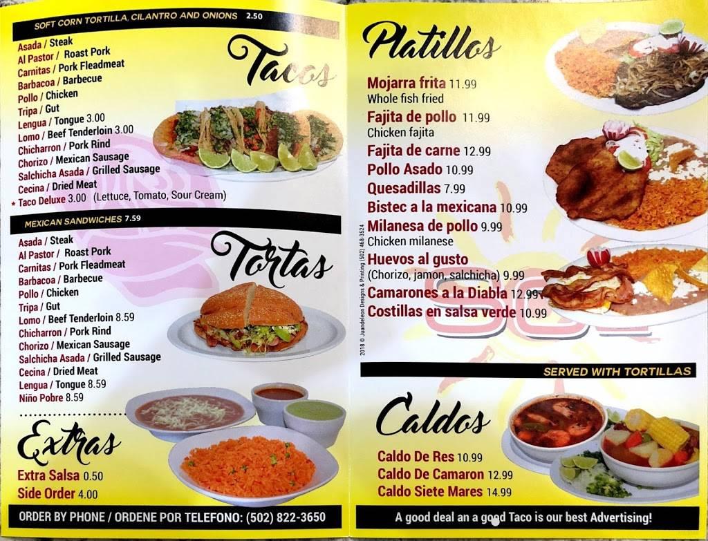 La Rosita Sol Crestwood | restaurant | 6334 W, KY-146 Ste 1-A, Crestwood, KY 40014, USA | 5028223650 OR +1 502-822-3650
