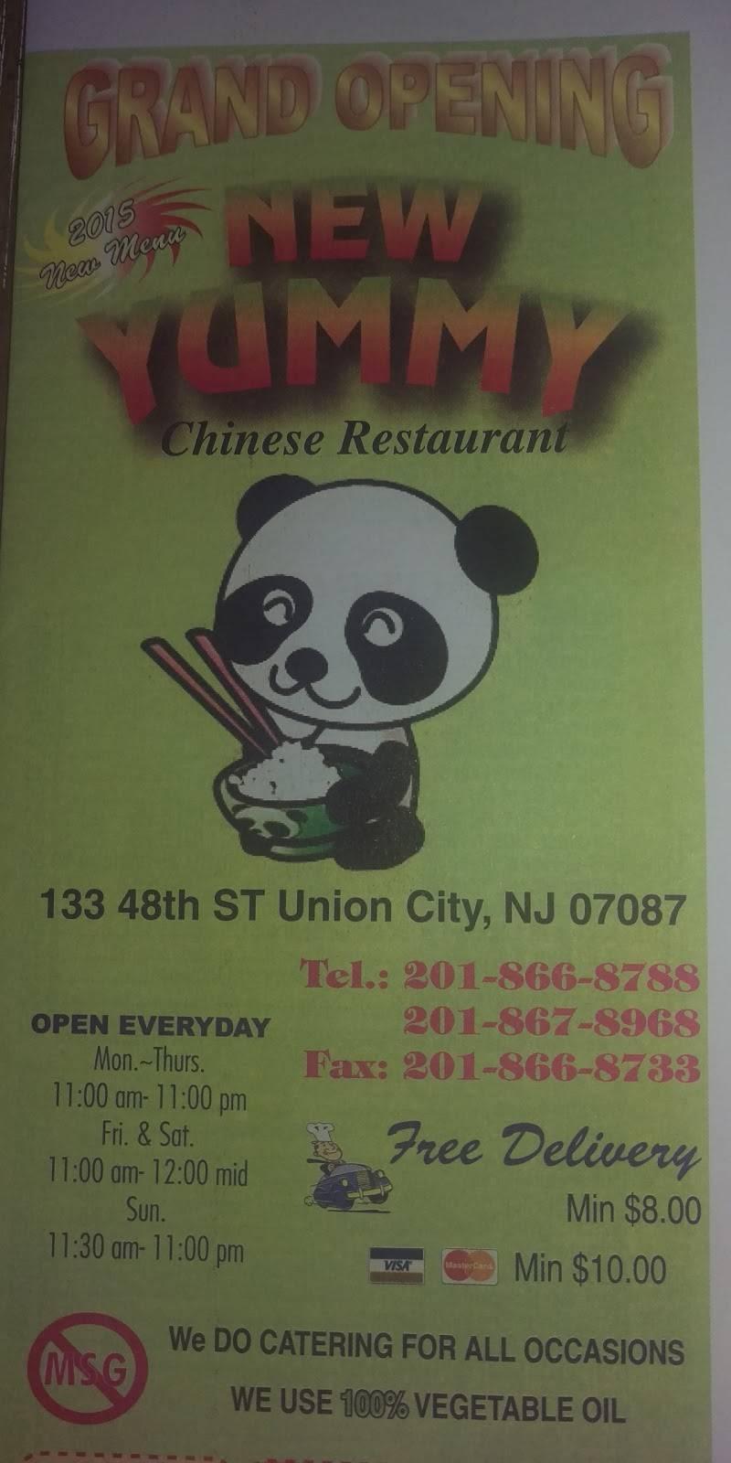 New Yummy Restaurant | restaurant | 133 48th St, Union City, NJ 07087, USA | 2018668788 OR +1 201-866-8788