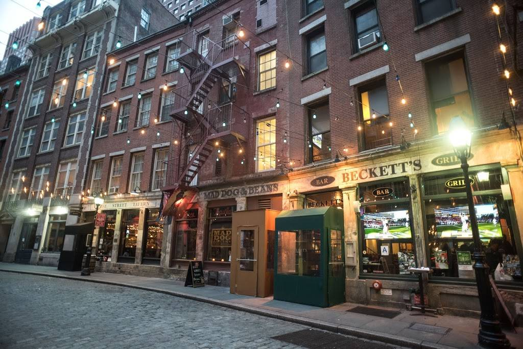 Becketts Bar & Grill | restaurant | 81 Pearl St, New York, NY 10004, USA | 2122691001 OR +1 212-269-1001