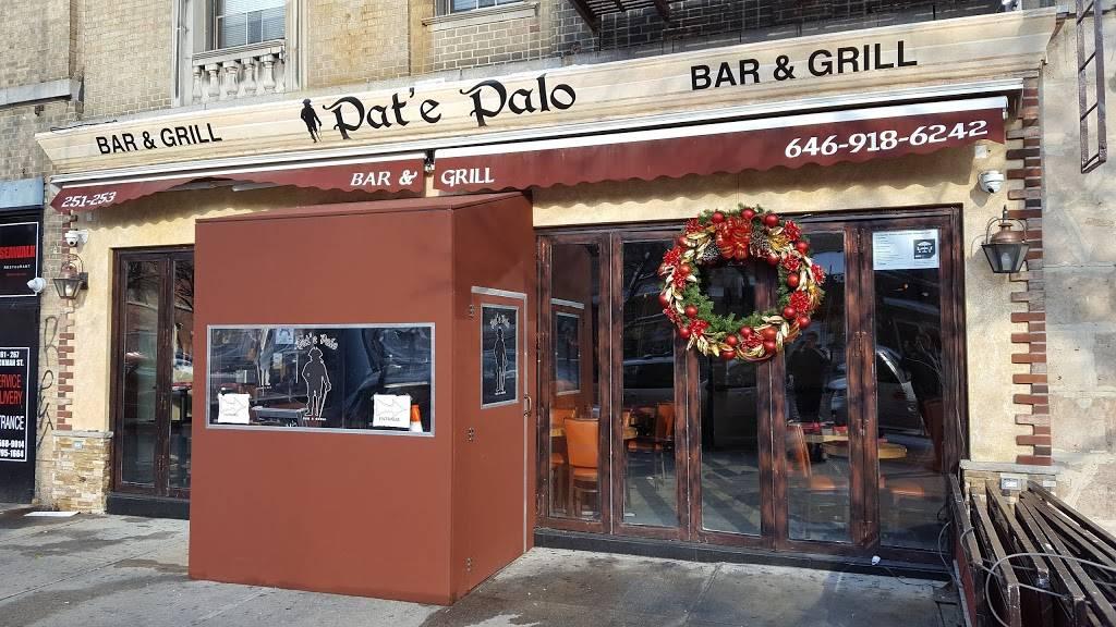 Pate Palo   restaurant   251-3 Dyckman St, New York, NY 10034, USA   6469186242 OR +1 646-918-6242