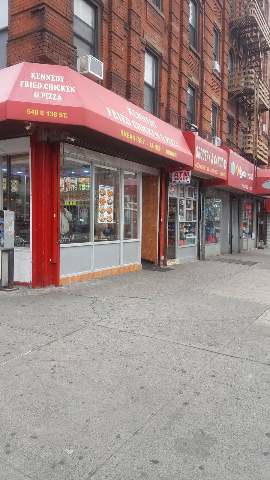 Kennedy Fried Chicken | meal takeaway | 548 E 138th St, Bronx, NY 10454, USA