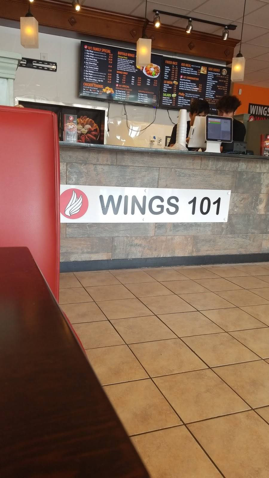 Wings 101 | restaurant | 5653 Memorial Dr, Stone Mountain, GA 30083, USA | 6787059383 OR +1 678-705-9383