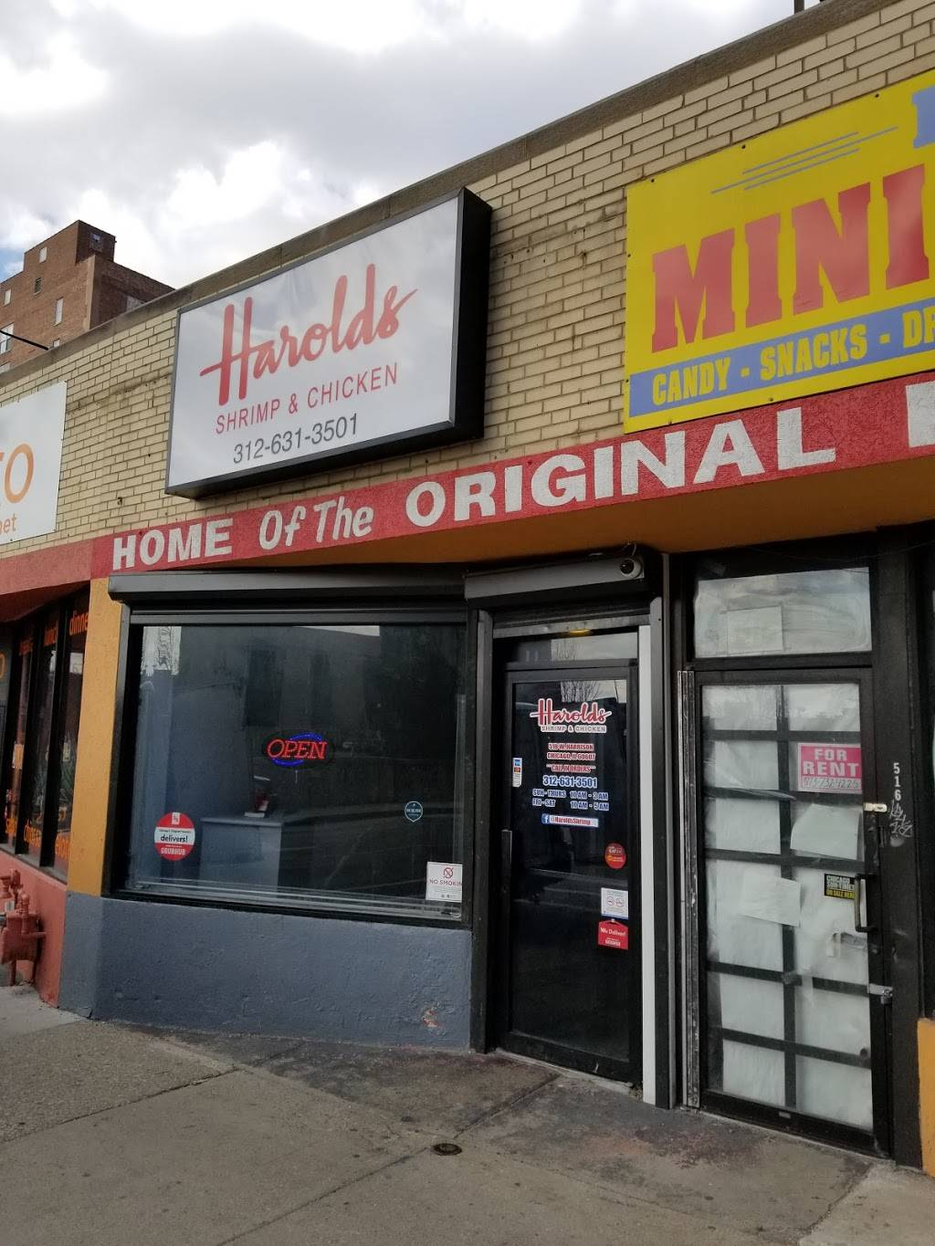 Chicagos Original Harolds | meal takeaway | 518 W Harrison St, Chicago, IL 60607, USA | 3126313501 OR +1 312-631-3501