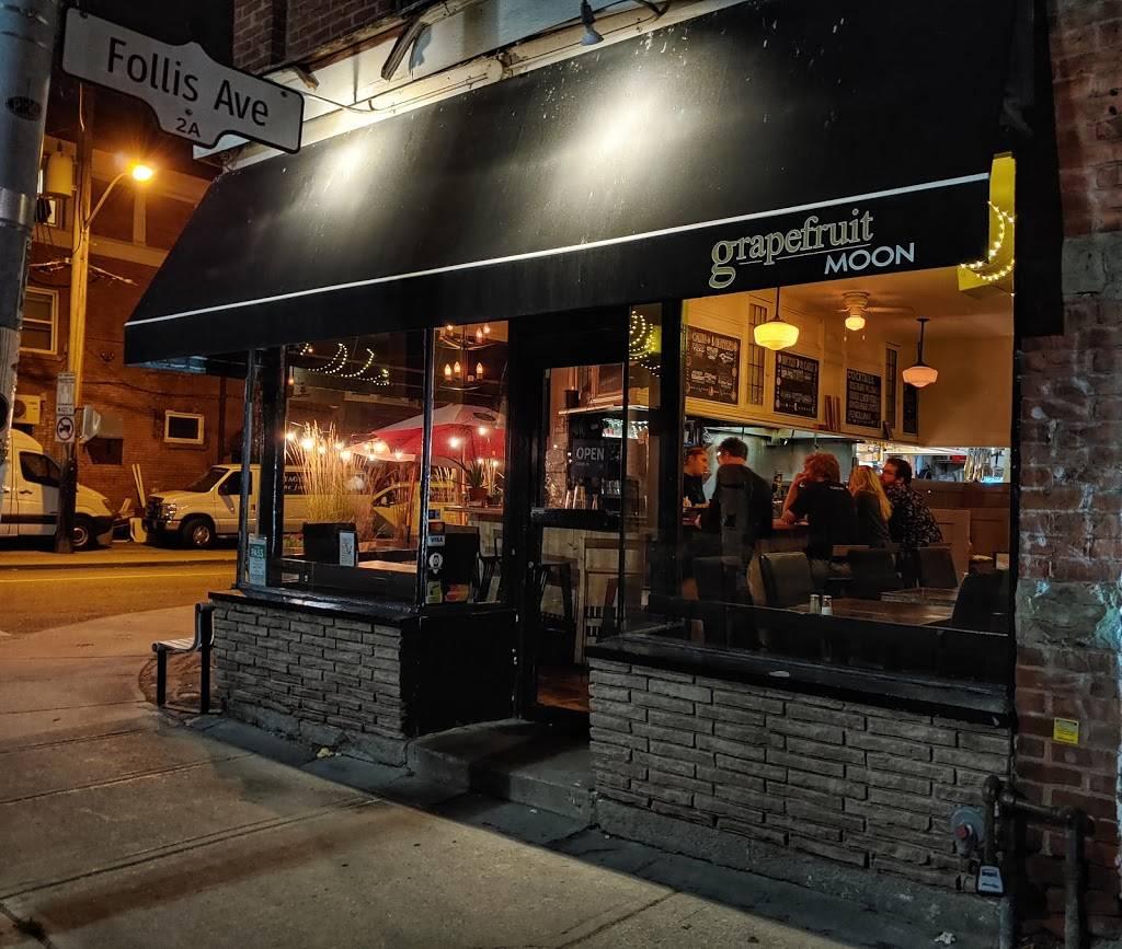 The Grapefruit Moon | restaurant | 968 Bathurst St, Toronto, ON M5R 3G4, Canada | 4165349056 OR +1 416-534-9056