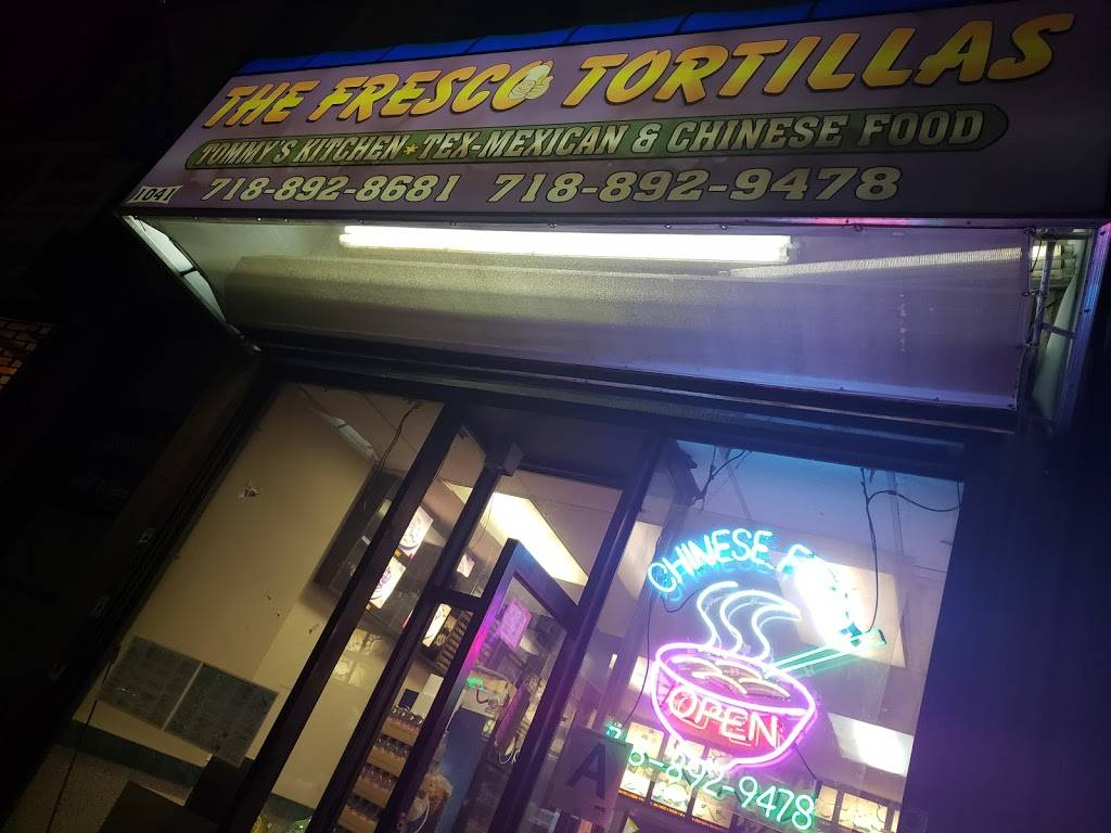 The Fresco Tortillas | restaurant | 1041 Morris Park Ave, Bronx, NY 10461, USA | 7188928681 OR +1 718-892-8681