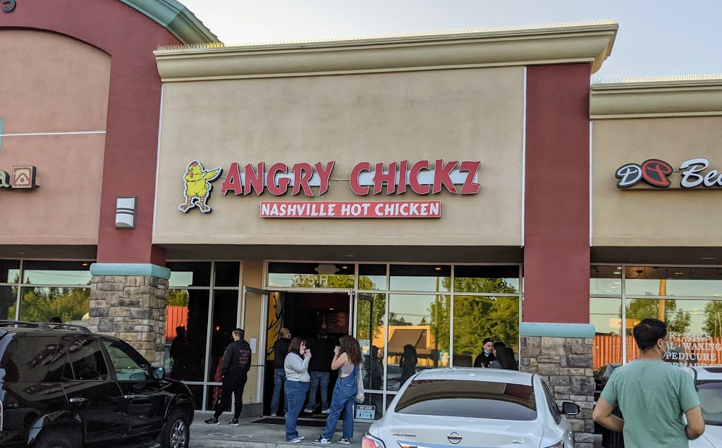 Angry Chickz - Nashville Hot Chicken | restaurant | 375 Saratoga Ave Suite H, San Jose, CA 95129, USA | 8004989836 OR +1 800-498-9836
