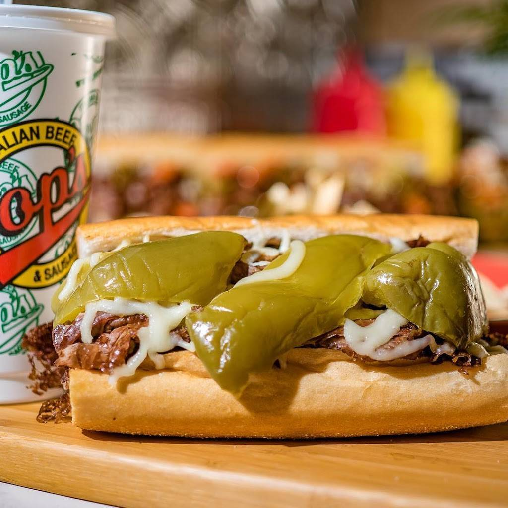 Pops Italian Beef & Sausage - Palos Heights   restaurant   7153 W 127th St, Palos Heights, IL 60463, USA   7083610087 OR +1 708-361-0087