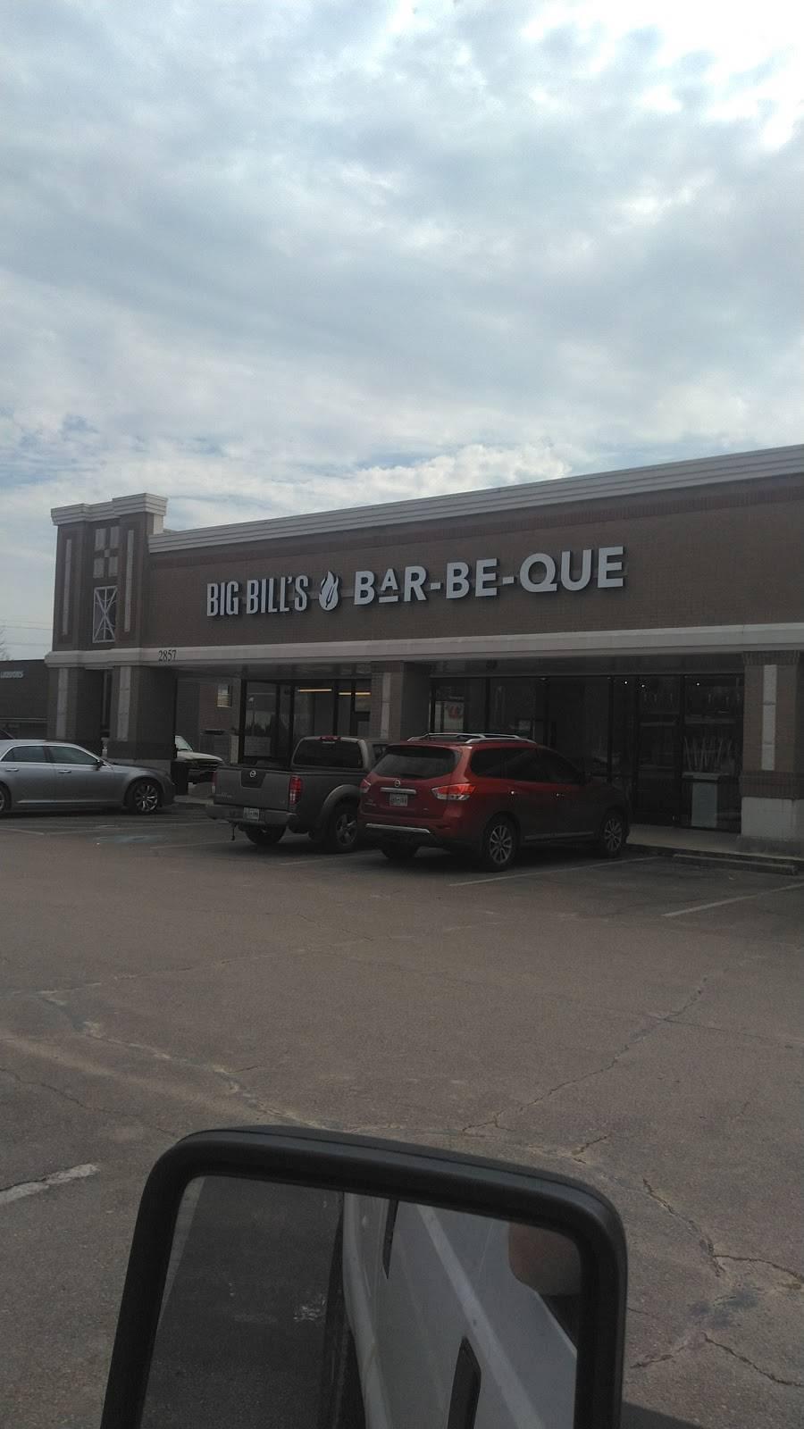 Big Bills Bar-Be-Que   restaurant   2857 Kirby Rd Suite 119, Memphis, TN 38119, USA   9015297798 OR +1 901-529-7798