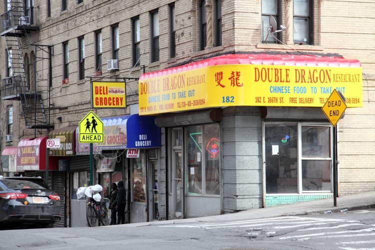 Double Dragon | restaurant | 182 E 166th St, Bronx, NY 10456, USA | 7184102838 OR +1 718-410-2838