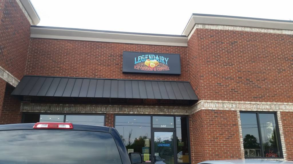 Legendairy Ice Cream & Coffee   cafe   260 Lafayette St, Ringgold, GA 30736, USA