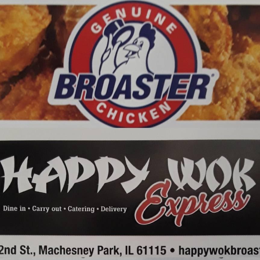 Happy Wok Express Broaster Chicken - Restaurant | 6901 N ...