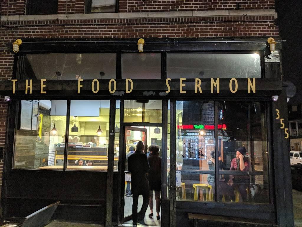 The Food Sermon   restaurant   355 Rogers Ave, Brooklyn, NY 11225, USA   7184847555 OR +1 718-484-7555