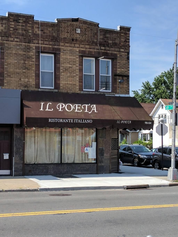 Il Poeta | restaurant | 9804 Metropolitan Ave, Forest Hills, NY 11375, USA | 3477458522 OR +1 347-745-8522
