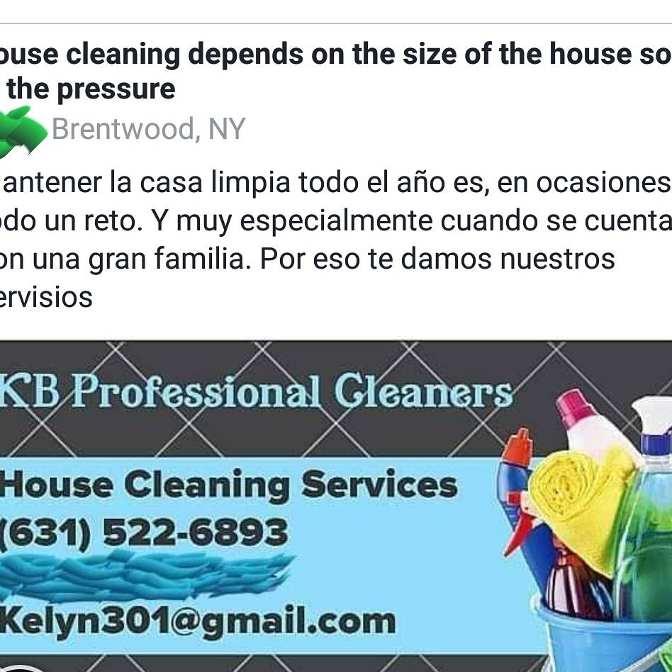 KB professional cleaners | restaurant | Ellery St, Brentwood, NY 11717, USA