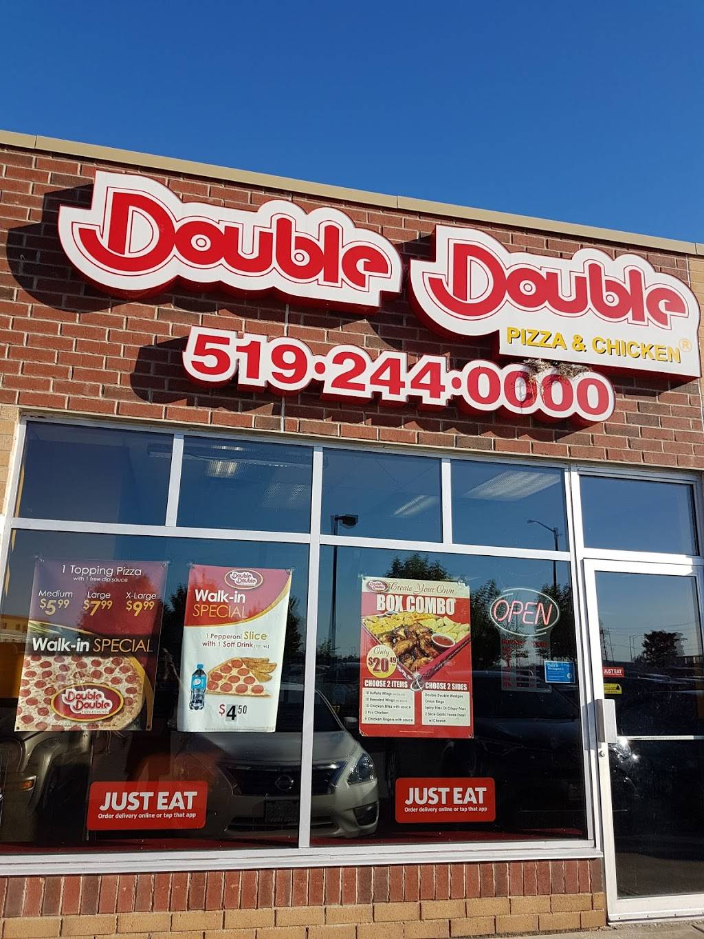 Double Double Pizza Chicken 95 Saginaw Pkwy Cambridge