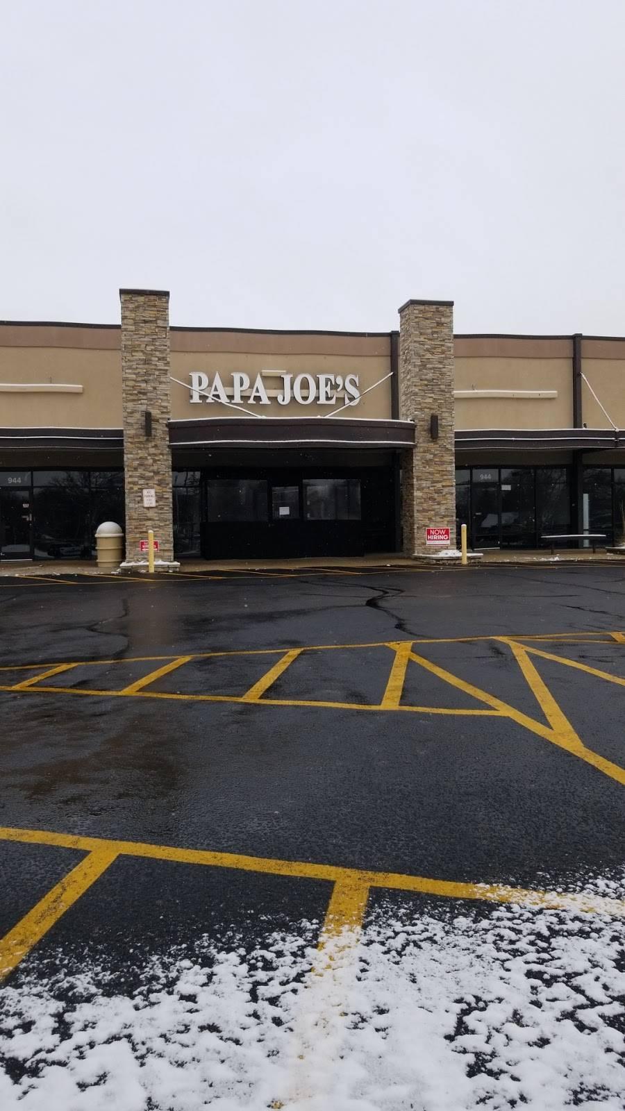 Papa Joes | restaurant | 944 E 9th St, Lockport, IL 60441, USA | 8158389099 OR +1 815-838-9099
