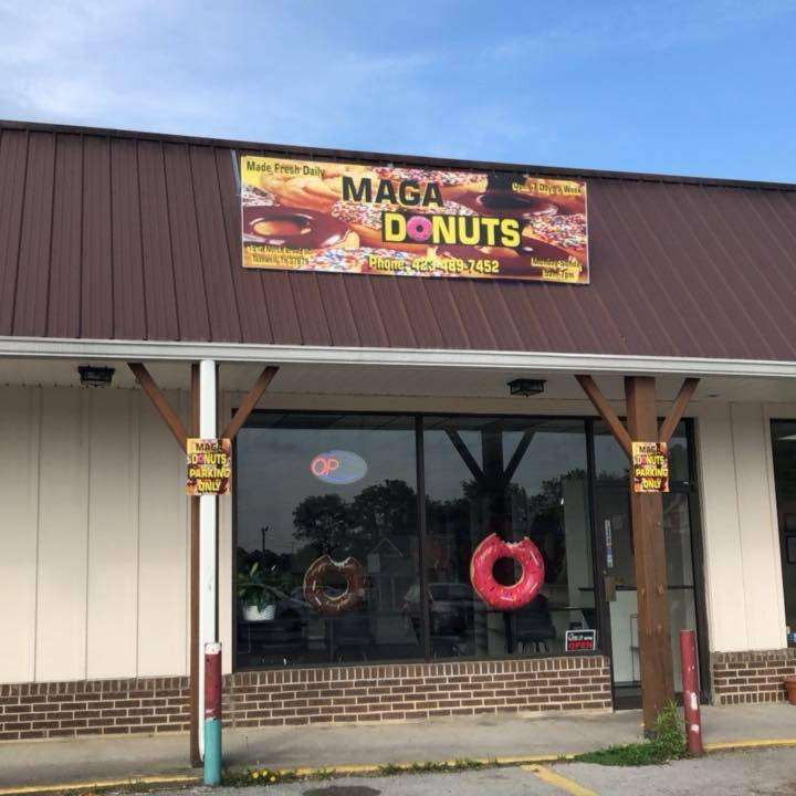 MAGA Donuts | bakery | 1514 N Broad St, Tazewell, TN 37879, USA | 4234897452 OR +1 423-489-7452