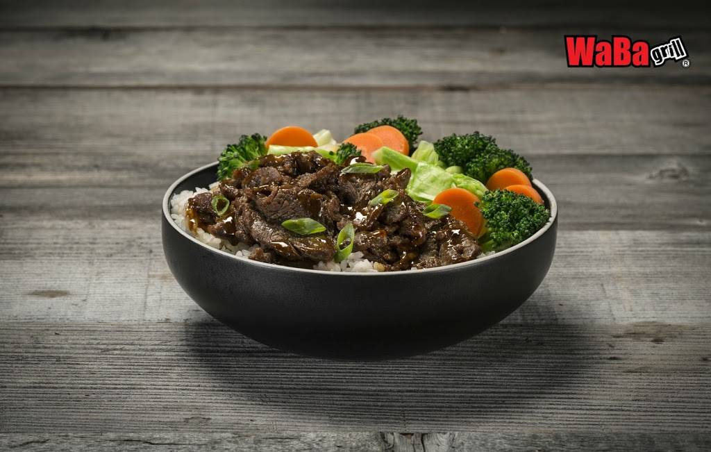 WaBa Grill | restaurant | 12940 Foothill Blvd Unit E, Lake View Terrace, CA 91342, USA | 8188381000 OR +1 818-838-1000