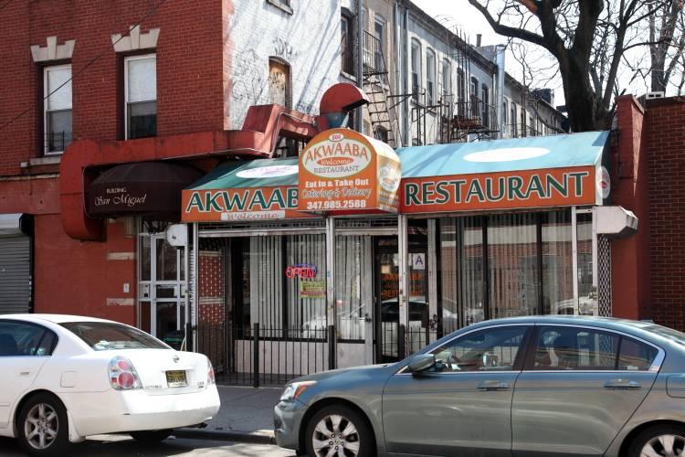 Akwaaba | restaurant | 604 Parkside Ave, Brooklyn, NY 11226, USA | 3479852588 OR +1 347-985-2588