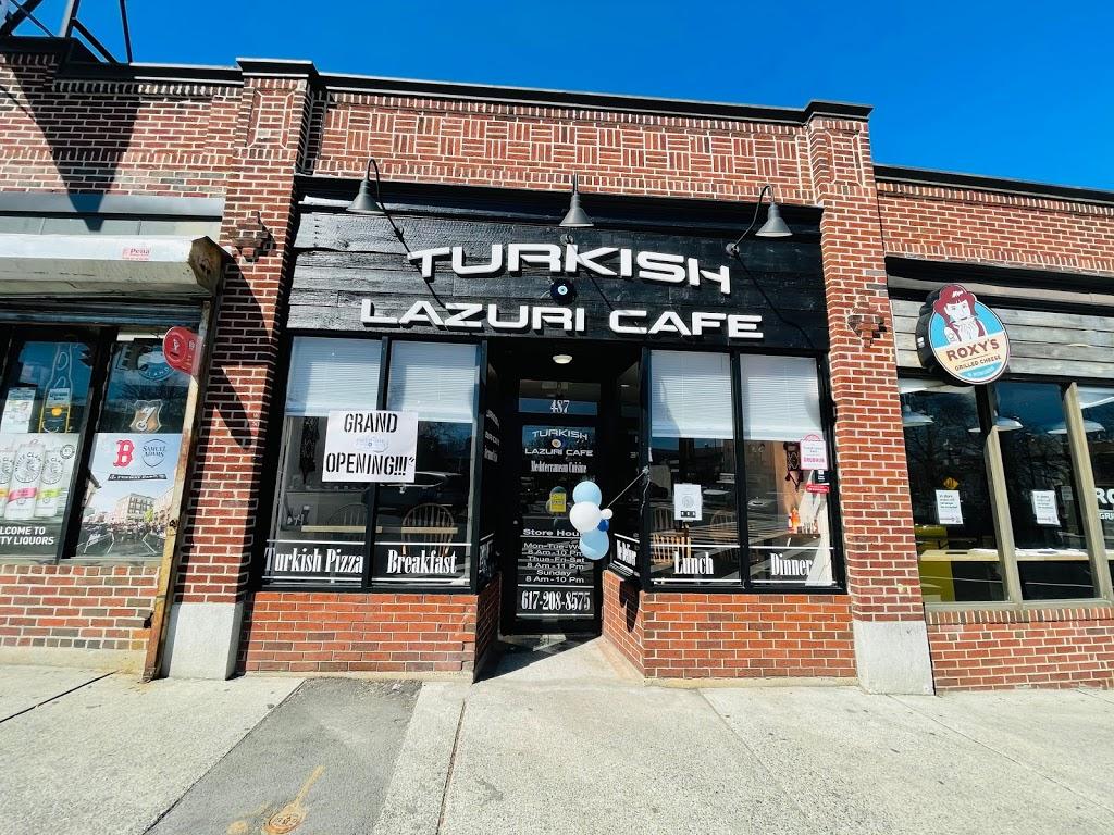 Turkish Lazuri Café | cafe | 487 Cambridge St, Boston, MA 02134, USA | 6179038855 OR +1 617-903-8855