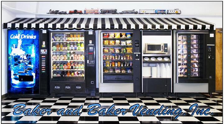 Baker & Baker Vending, Inc. | meal takeaway | 2063 Aaron Pl, Clearwater, FL 33760, USA | 7274235008 OR +1 727-423-5008