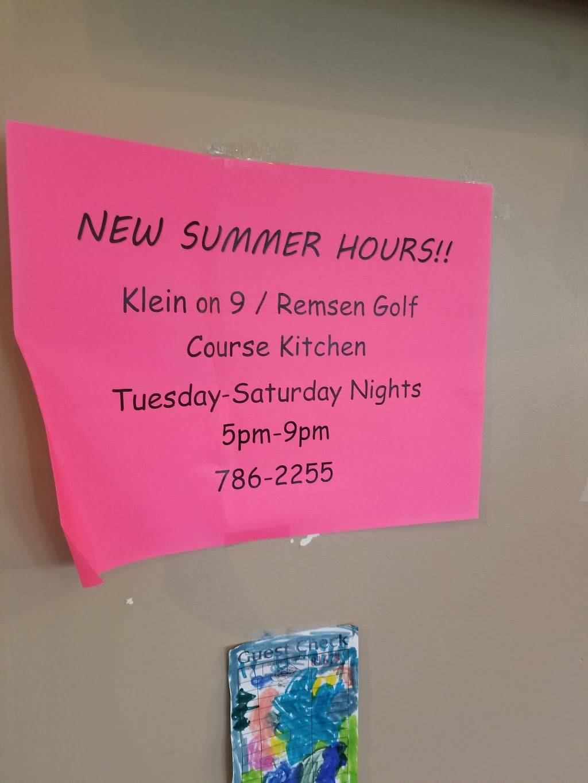 Klein On 9 | restaurant | 506 W 5th St, Remsen, IA 51050, USA | 7127862255 OR +1 712-786-2255