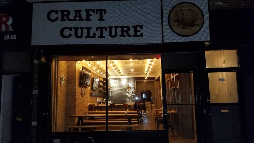 Craft Culture   restaurant   59-04 Myrtle Ave, Ridgewood, NY 11385, USA   7186283931 OR +1 718-628-3931