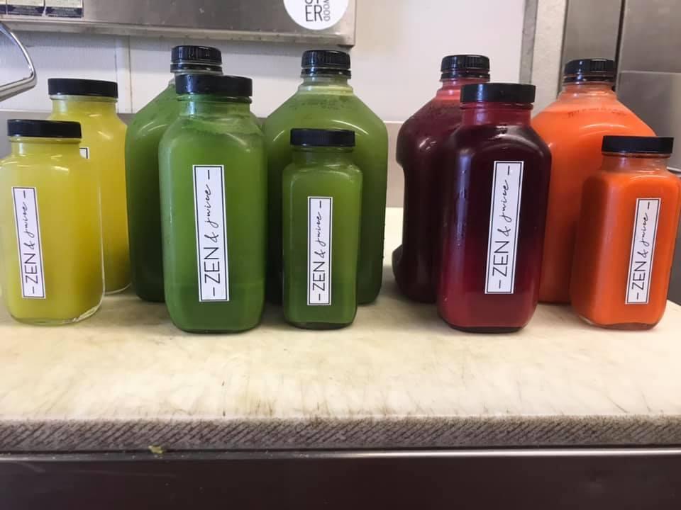 Zen & Juice | restaurant | 100 N Main St, Ellijay, GA 30540, USA