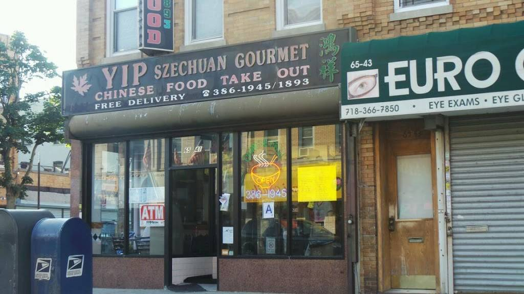 Yip Szechuan Gourmet | meal takeaway | 6541 Myrtle Ave, Glendale, NY 11385, USA | 7183861945 OR +1 718-386-1945