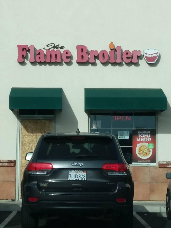 Flame Broiler | restaurant | 1211 E La Habra Blvd, La Habra, CA 90631, USA | 5626914370 OR +1 562-691-4370