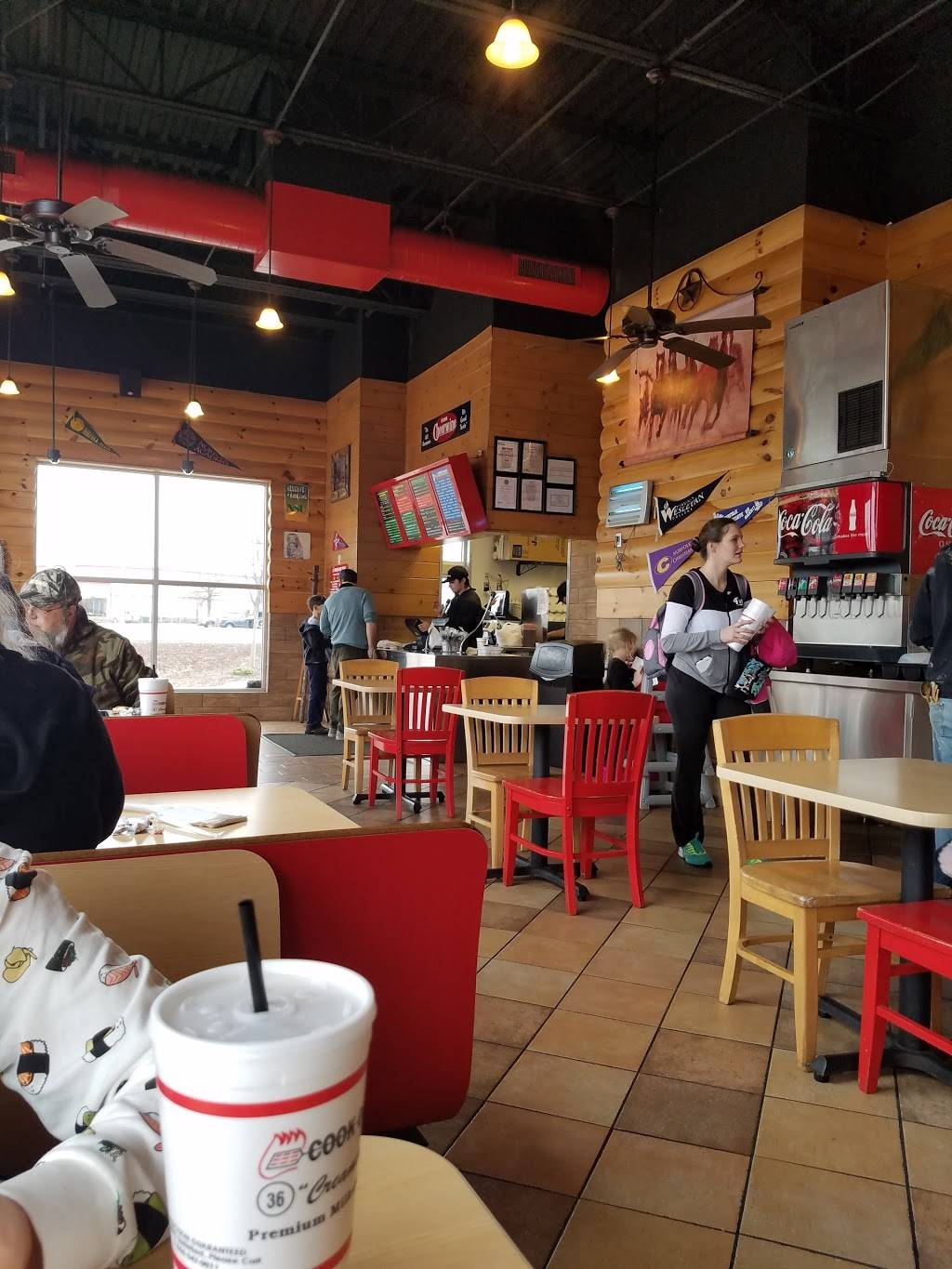 Cook Out Restaurant 1105 N Military Hwy Norfolk Va 23502 Usa